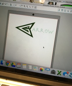 sticker arrow
